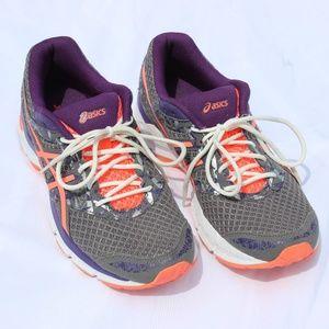Ascics Gel Excite 4 Grey, Purple, Pink 9